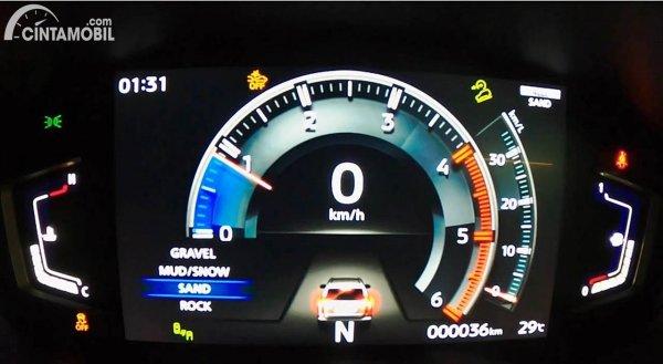 Mitsubishi Pajero Sport 2021 Panel Instrumen