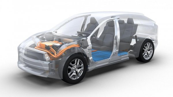 platform e-TNGA Toyota yang menjadi struktur mobil baru Toyota dan Subaru