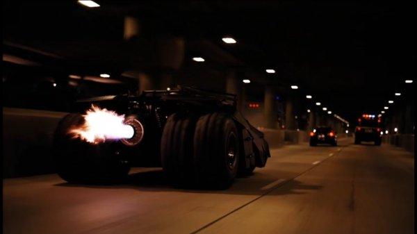 scene mobil di film Batman