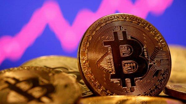 Gambar menunjukan Bitcoin