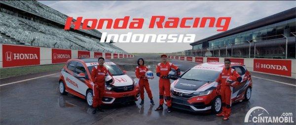 Line-up Honda Racing Indonesia 2021