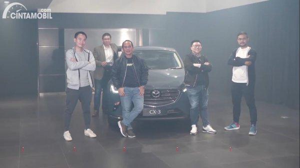 peluncuran Mazda CX-3 1.5L Sport secara virtual