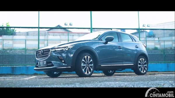 tampilan warna velg baru Mazda CX-3 berwarna gunmetal