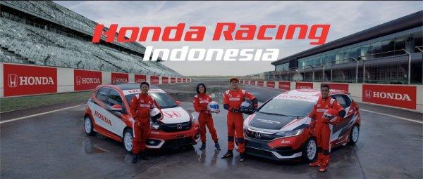 Skuat Honda Racing Indonesia musim 2021