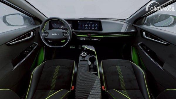 Gambar interior KIA EV6 GT 2021