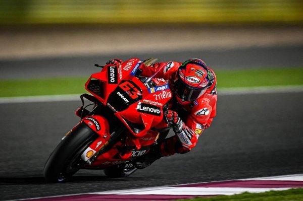 Francesco Bagnaia MotoGP Qatar 2021