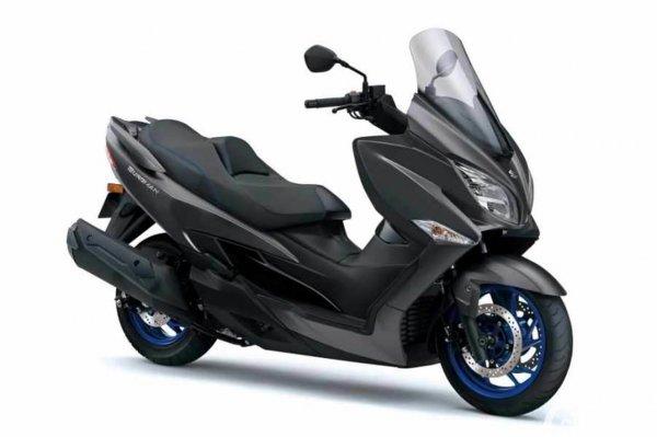 Suzuki Burgman 400 Iron Grey