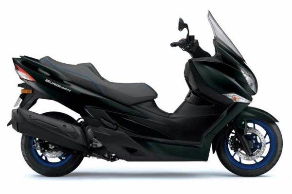 Suzuki Burgman 400 Black Matte