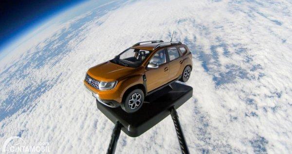 perjalanan Dacia Dustar ke luar angkasa