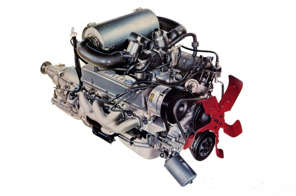 gambar mesin Rover V8