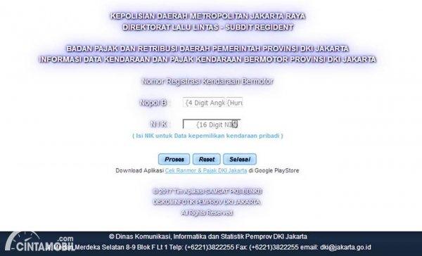 Samsat Online DKI Jakarta