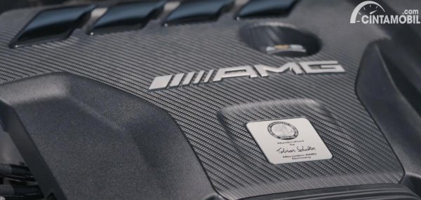 signature mesin Mercedes-AMG CLA 45s
