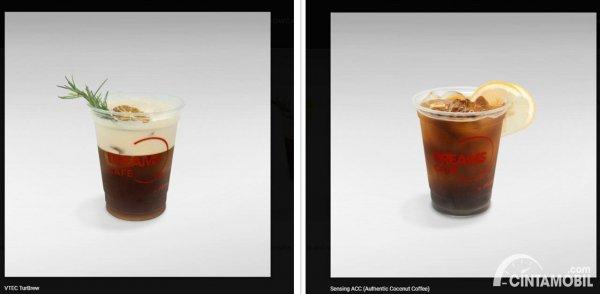 dua menu andalan yang ada di Honda Dreams Cafe