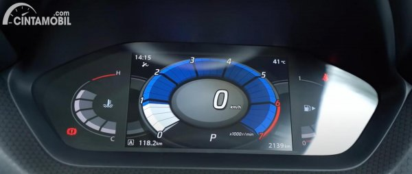 panel instrume Nissan Magnite 2021