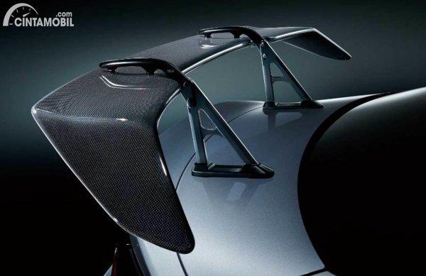Subaru BRZ 2022 rear wing