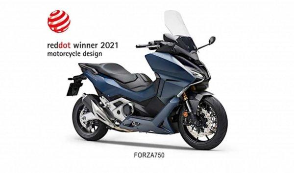 Honda Forza 750 Red Dot Design Award 2021