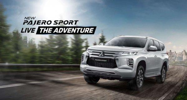 Foto menunjukkan Mitsubishi New Pajero Sport