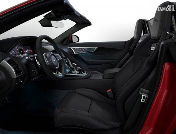 Jaguar F-Type R-Dynamic Black Interior