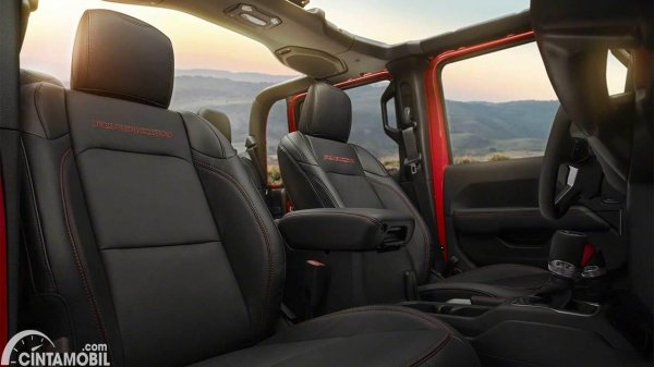 Jeep Gladiator Texas Trail interior