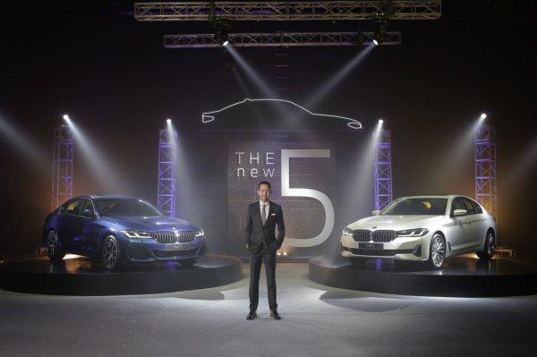 Gambar menunjukan BMW Seri 5