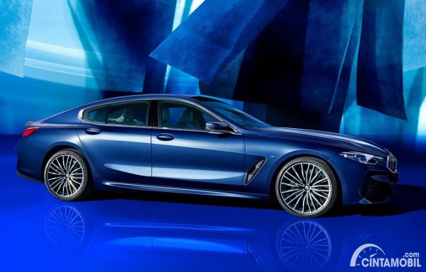 BMW 8 Series Gran Coupe Collector Edition Blue
