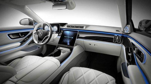 Mercedes Maybach S650 interior