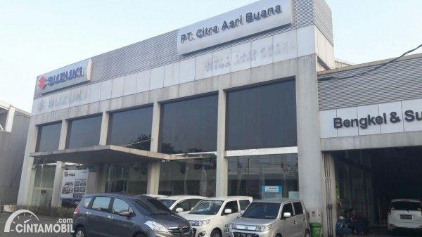 Tampilan depan Dealer Resmi Suzuki