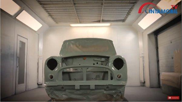 kerangka oselli edition di pabrik mobil