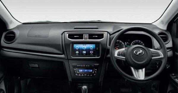 Gambar menunjukan Interior Perodua Aruz