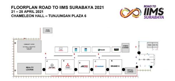 Gambar menunjukan IIMS Surabaya