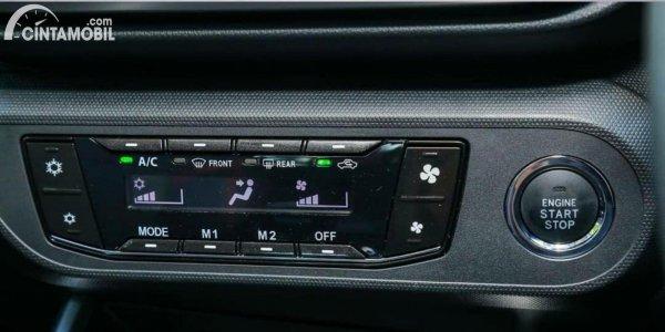 Gambar panel pengaturan AC Toyota Raize dan Daihatsu Rocky