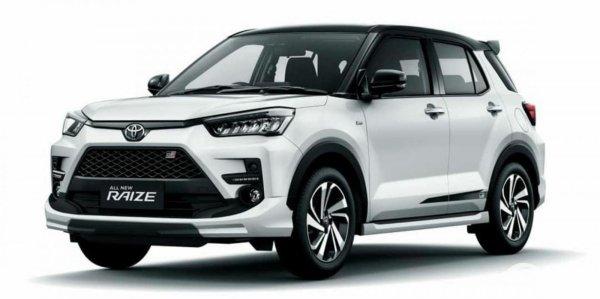 Gambar Toyota Raize GR-S 2021
