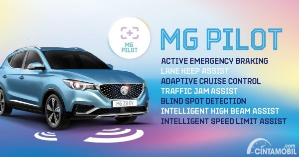 Teknologi driver assistance MG Pilot yang dipakai MG ZS EV