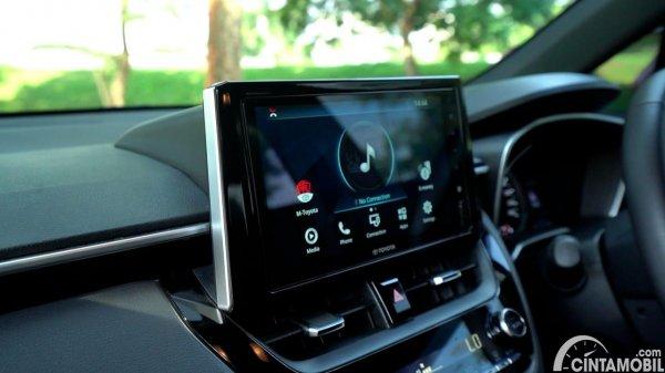 Foto Head unit Toyota Corolla Cross Gasoline AT 2021