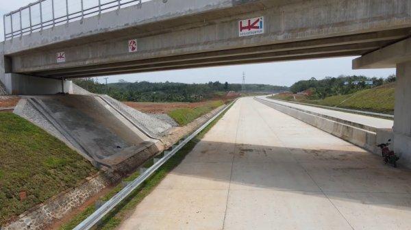 Foto jalan Tol Lubuklinggau-Bengkulu