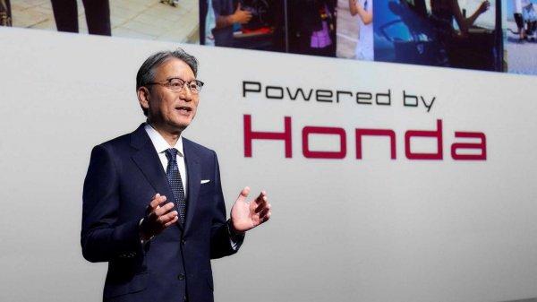 Foto President and Representative Director Honda, Toshihiro Mibe