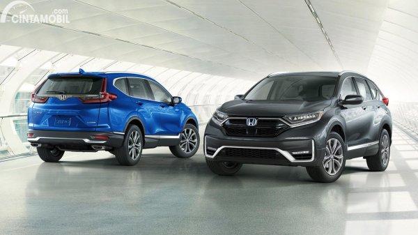 Tampak depan Honda CR-V Facelift