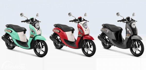 Pilihan warna Yamaha New Fino 125
