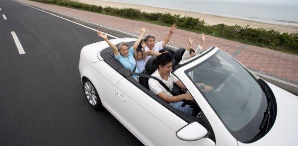 berwisata bersama keluarga dengan mobil