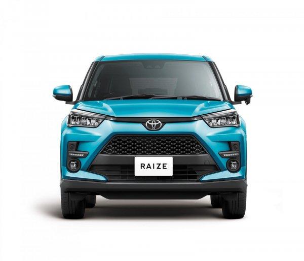 Gambar menunjukan Toyota Raize