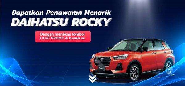 Gambar menunjukkan promo saat membeli Daihatsu Rocky