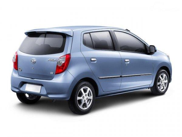 mobil daihatsu ayla memiliki ukuran cukup compact