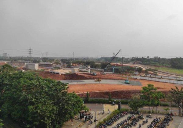 Foto Pembangunan Tol Serpong-Balaraja