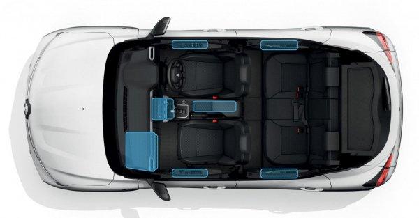 tampilan kabin mobil kiger