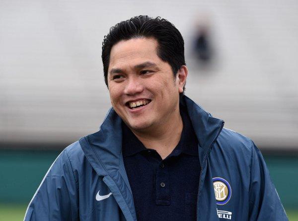 Erick Thohir berjaket Inter Milan