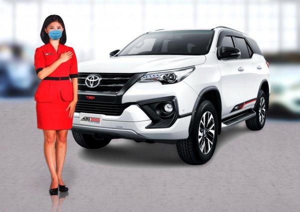 Gambar menunjukan Toyota Fortuner