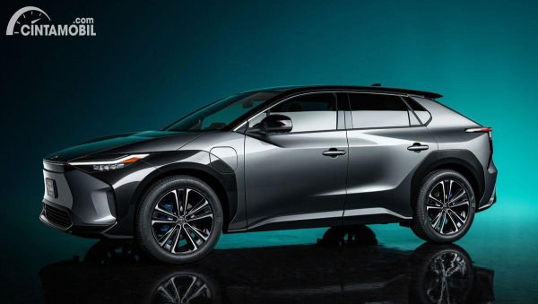 tampilan terbaru dari Toyota BZ4X