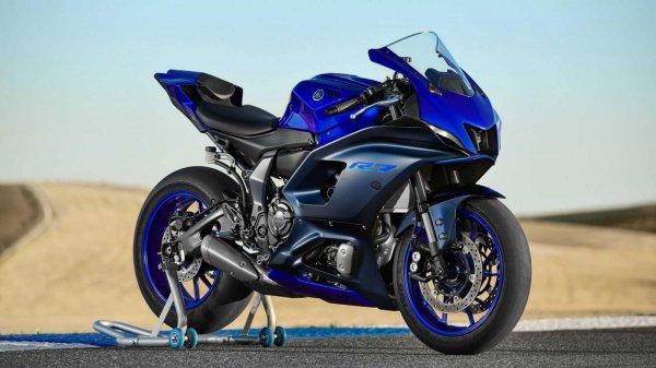 Gmabar menunjukan Yamaha R7