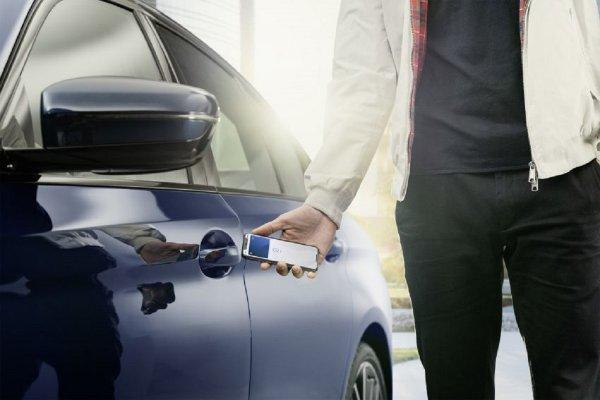 Gambar menunjukan Kunci mobil digital