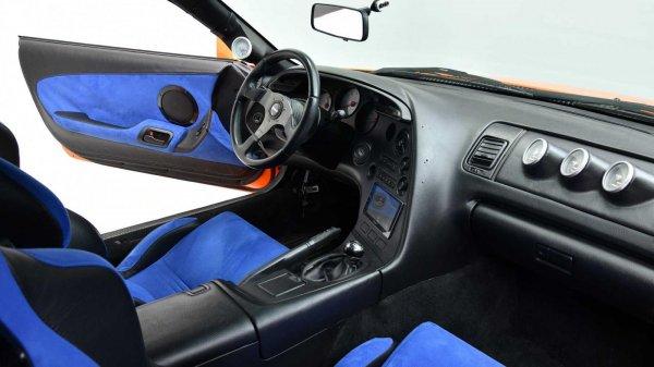 Gambar menunjukan Interior Toyota Supra